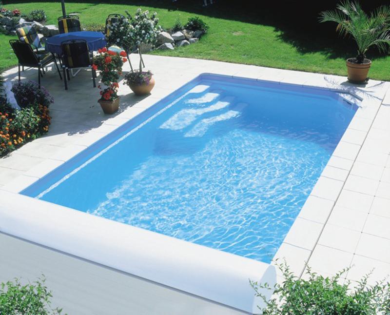 Zwembad Polyester Gebruikt.Polyester Zwembad 620 X 300 X 150cm Carma Webshop