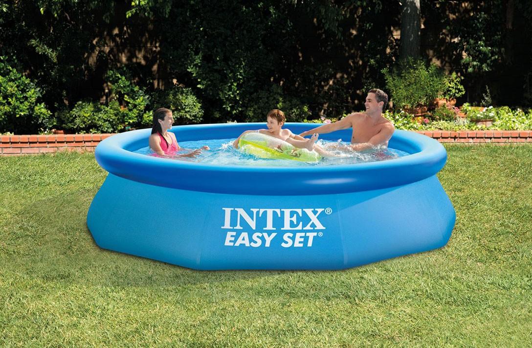 Intex easy set zwembad 305 x 76 cm carma webshop for Intex webshop