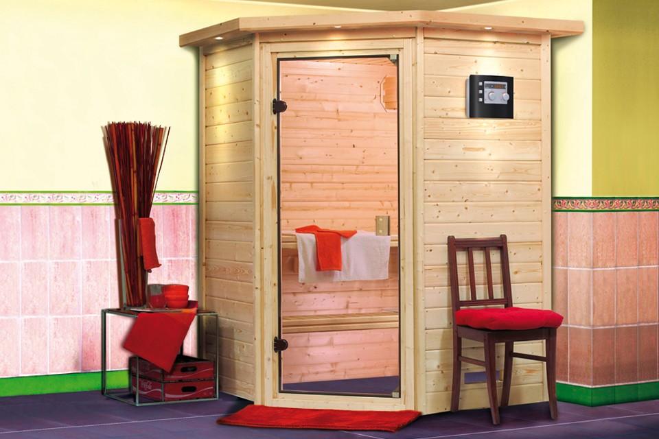 karibu massiefhouten 230v sauna alicja 172 x 158 x 202 cm carma webshop. Black Bedroom Furniture Sets. Home Design Ideas